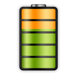 Info widget battery icon